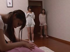 Collection of porn movies with adorable Japanese housewife