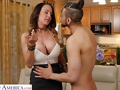 Fabulous prex babe McKenzie Lee jerks retire from with the addition of rides strong cock