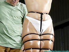 Bondage Punishment adjacent to high definition porn scene