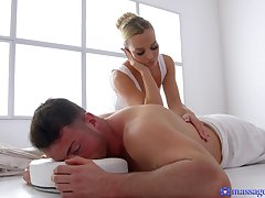 Masseur gives Victoria Pure more than his masterly touch