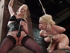 Elegant matures share a session be worthwhile for femdom porn