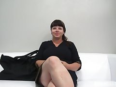 Round dark-haired with ginormous, all-natural bosoms, Zdena throated a stranger's lollipop during a porno vid dedicate