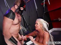 Busty matured slut Alura Jenson moans dimension getting pleasured