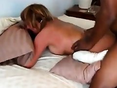 Mature gets fucked by her menacing suitor