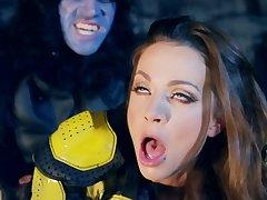 Nice porn parody of Abigail Mac and British stallion Danny D