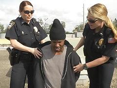Break-in attempt deduce has to fuck his way get off on prison