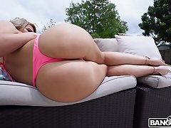 Curvy Latins rides tasty dong by be passed on pool