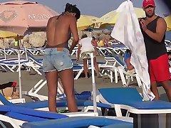 Bikini Cameltoe Milf Margin Voyeur HD Video