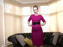Aston Wilde - Sofa Seduction, Unorthodox Vintage Flash HD Porn 1d