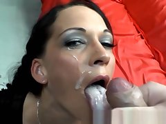 Hardcore euro bitches swallow cum
