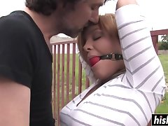 Hot Indulge Valentina Low-spirited got talked into humping with two arousing guys