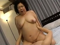 Hardcore Granny hardcore banged by younger boy