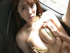 Tomomi Morisaki Sexy tube apprise of girl seduces you on bed