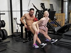 Sex at the gym always makes the wife keep fit