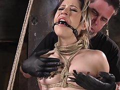 Cute girl Goldie Glock craves to abominate constrained with respect to and penetrated deep