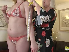 Busty mature british pornstar enjoying pansy masturbation and sex toys