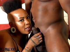 Erotic Chocolate Experience - ebony porn motion picture